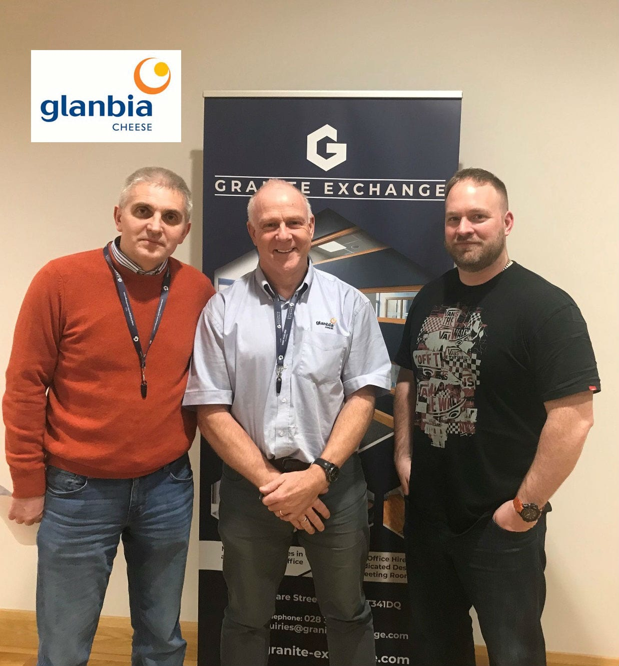 Glanbia Cheese Choose Granite Exchange for Newry Base